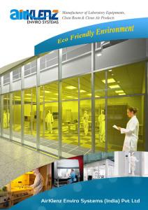 AirKlenz Download PDF, Clean room equuipmnets, laboratory equipmnets, air shower in india, chennai, bangalore