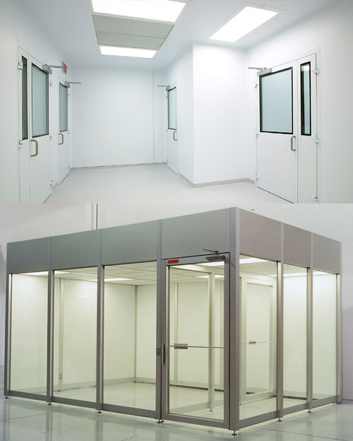 Hardwall Cleanrooms design, manufacturer in india, bangalore, hyderabad